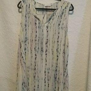 Lush sleeveless tunic. Size XL